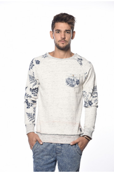 SWEAT HOMME FLOWERS