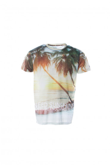 T-SHIRT GARÇON SUNSET