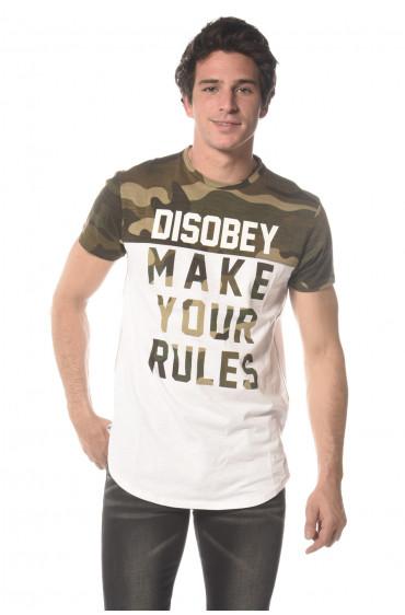 Tee Shirt slogan Disobey