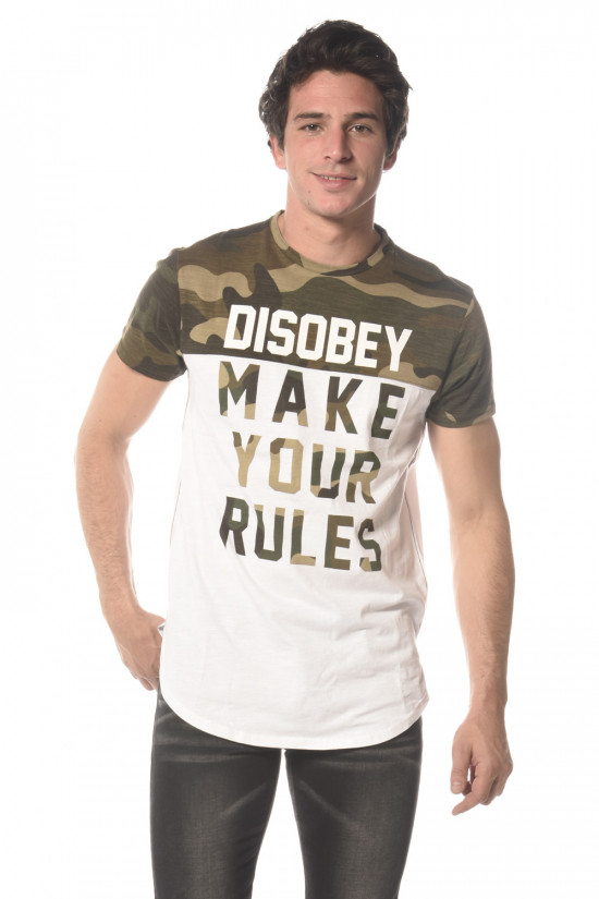 Tee Shirt Homme Disobey