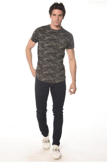 Tee Shirt camouflage Scars