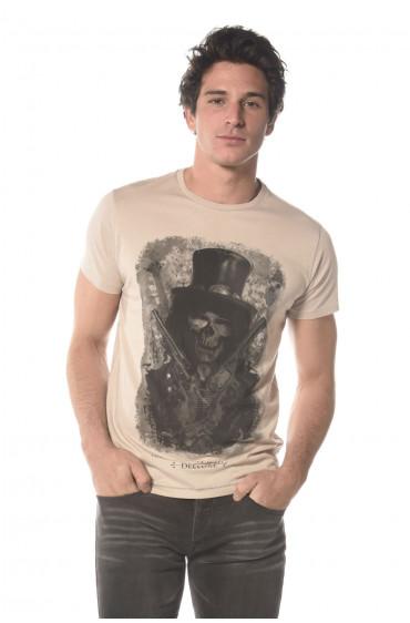 Deeluxe Tee Shirt Homme Gunson