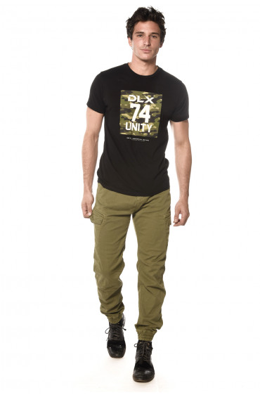 Tee Shirt print camouflage Set
