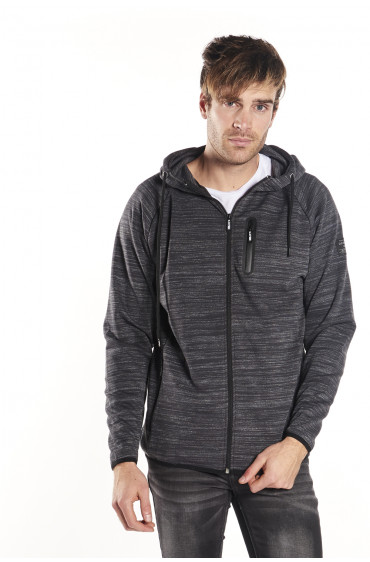 Sweat Homme à capuche zippé Feel