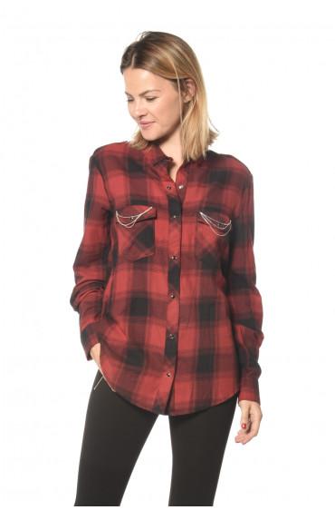 Chemise à carreaux Vanda