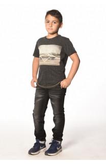 T-Shirt T-Shirt TUREY Garçon W17161B (33356) - DEELUXE