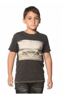 T-Shirt T-Shirt TUREY Garçon W17161B (33357) - DEELUXE