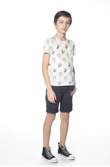 T-shirt print squelette Sangria