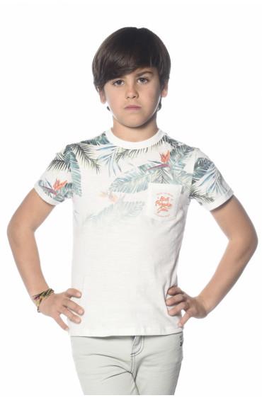T-shirt poche logotypée Palmito