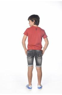 T-Shirt FLAGY Garçon S18160B (33577) - DEELUXE