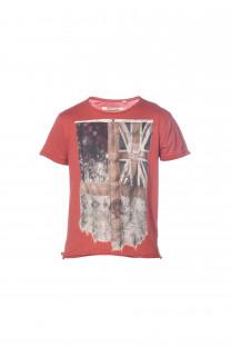 T-Shirt FLAGY Garçon S18160B (33578) - DEELUXE