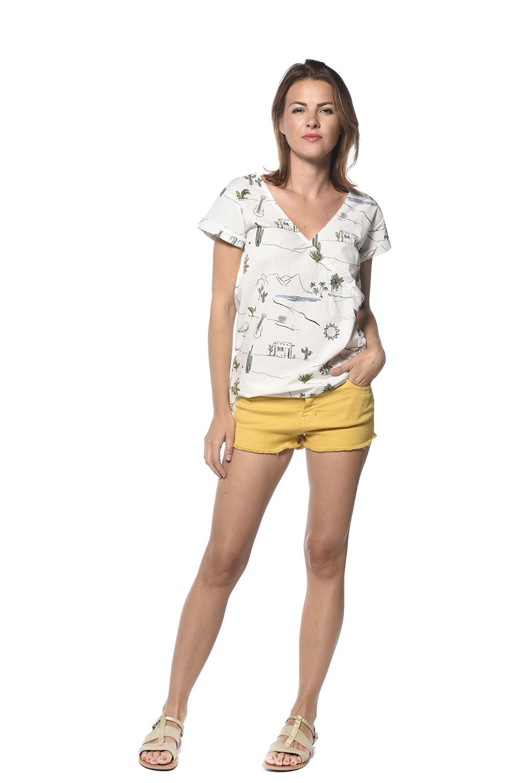 Short CURRY Femme S18713W (34107) - DEELUXE