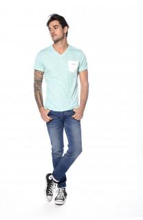 T-Shirt T-SHIRT FOX Homme S18106 (34222) - DEELUXE