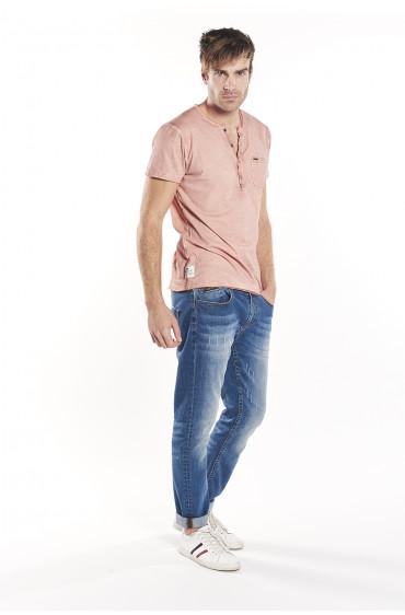 T-shirt col boutonné Beny
