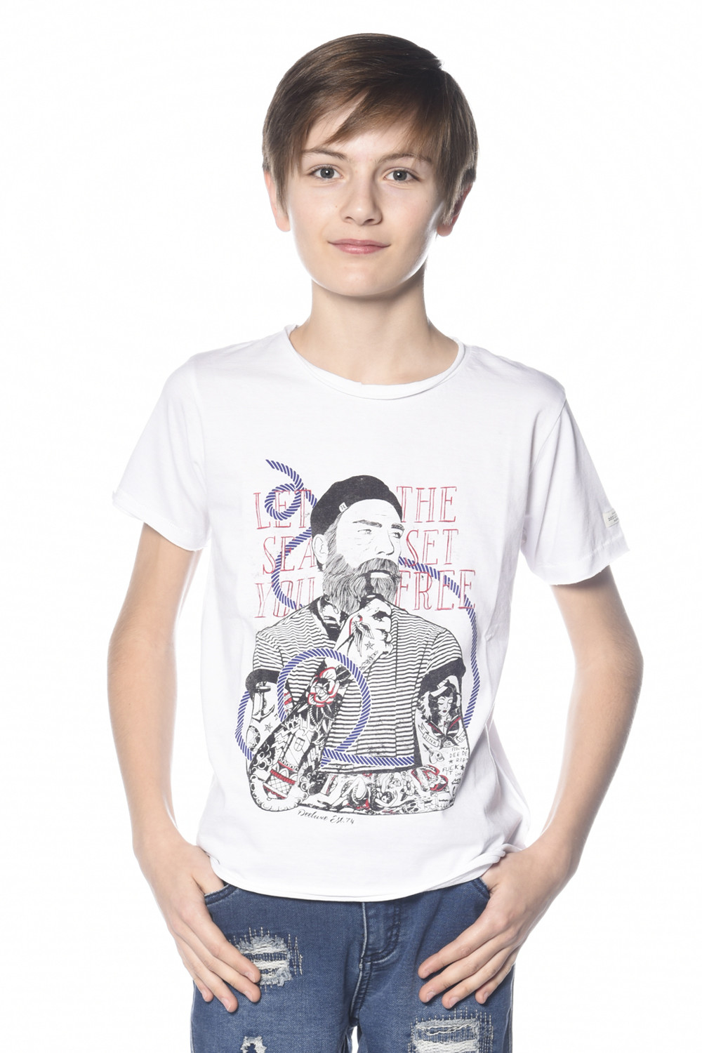 T-shirt POPEYE Outlet Deeluxe