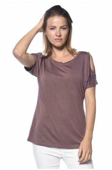 T-shirt épaules dénudées Irina