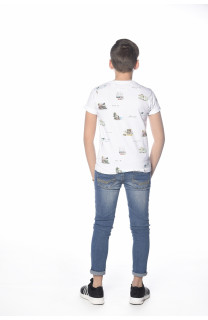 T-Shirt VAN Garçon S18163B (34530) - DEELUXE