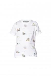 T-Shirt VAN Garçon S18163B (34531) - DEELUXE