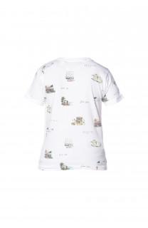 T-Shirt VAN Garçon S18163B (34532) - DEELUXE