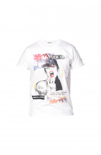 T-shirt Fuckoff Outlet Deeluxe
