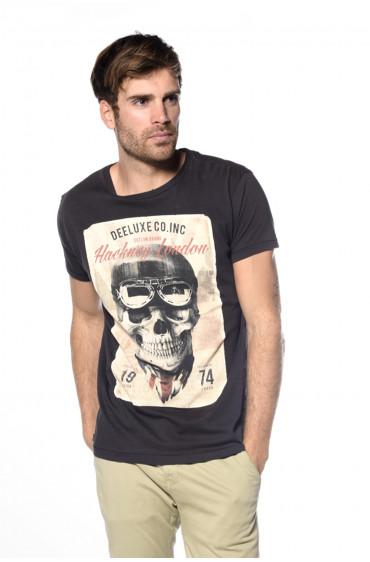 T-shirt esprit biker Clem