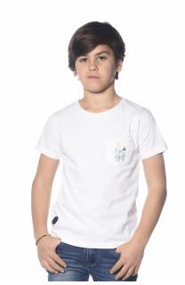 T-Shirt SKOOL Garçon S18150B (35284) - DEELUXE