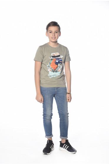 T-shirt perroquet Havana