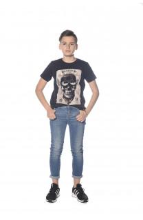 T-Shirt CLEM Garçon S18196B (35332) - DEELUXE