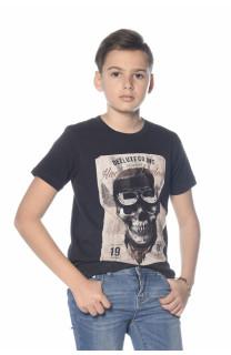T-Shirt CLEM Garçon S18196B (35333) - DEELUXE