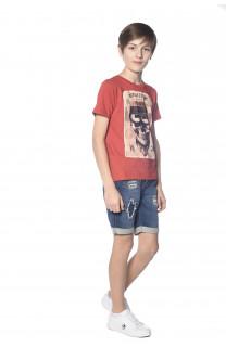 T-Shirt CLEM Garçon S18196B (35344) - DEELUXE