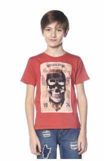 T-Shirt CLEM Garçon S18196B (35345) - DEELUXE