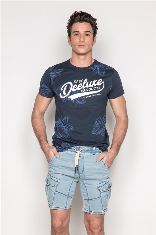 Deeluxe Short effet denim Borel