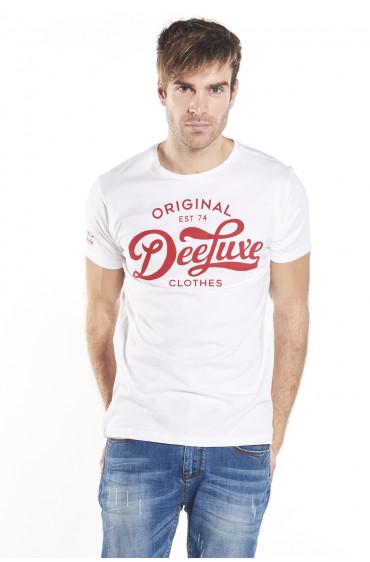T-shirt print contrasté Write