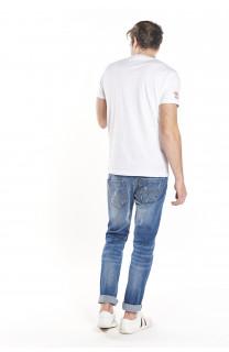 T-Shirt WRITE Homme S18142 (36241) - DEELUXE