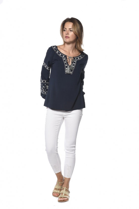 Blouse BERTHA Outlet Deeluxe