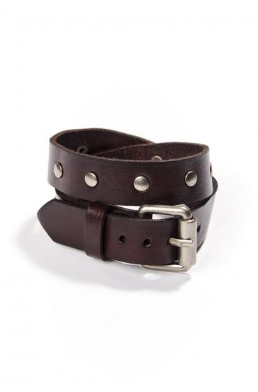 Bracelet en cuir Navajos