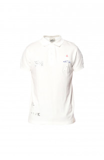 Polo VOILE Homme S18210 (36484) - DEELUXE
