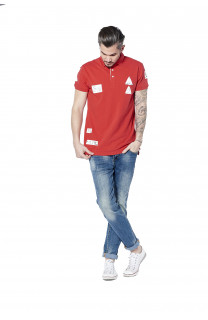 Polo VOILE Homme S18210 (36487) - DEELUXE