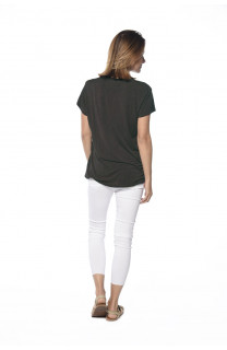 T-Shirt NIGHT Femme S18113W (36500) - DEELUXE
