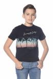 T-shirt print palmiers Miami