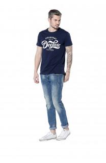 T-Shirt WRITE Homme S18142 (36917) - DEELUXE