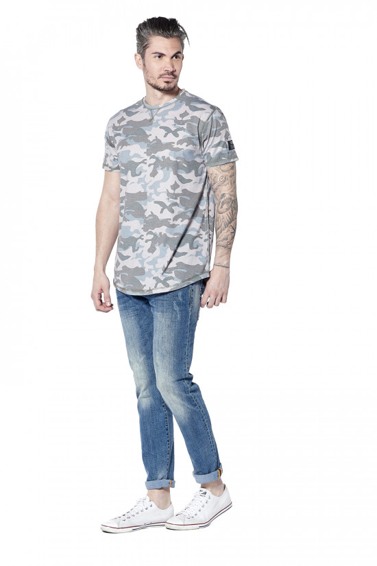 Deeluxe T-shirt camouflage Scars