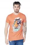 T-shirt print animalier Havana
