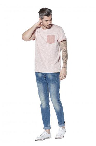 T-shirt avec poche poitrine Wyatt