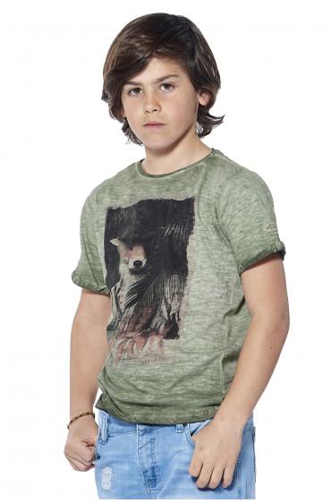 Deeluxe T-shirt animalier Indifox