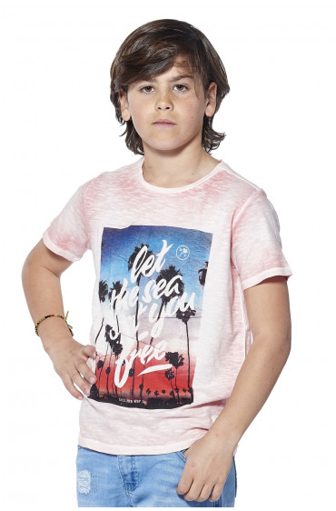 Deeluxe T-shirt Plage