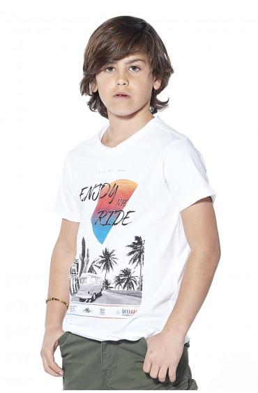 Deeluxe T-shirt Enjoy