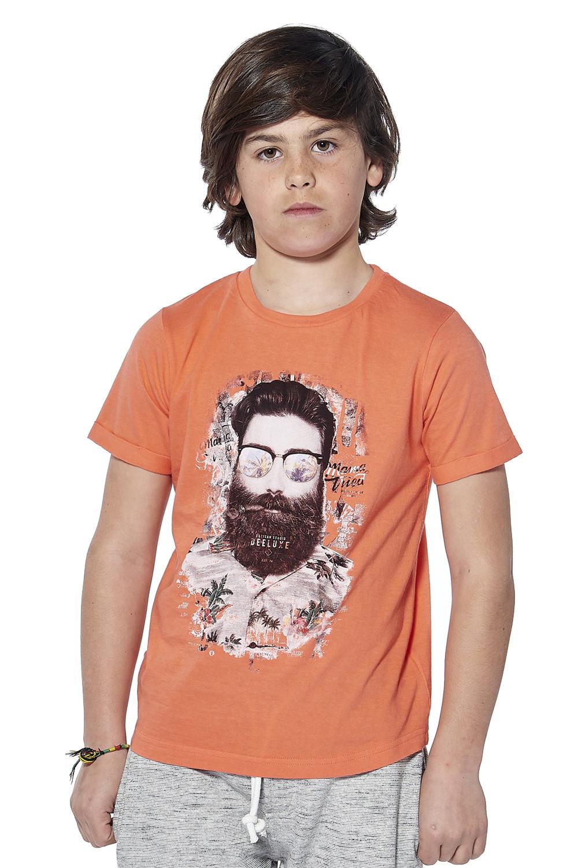 T-Shirt T-Shirt CLYDE Garçon S18178B (37064) - DEELUXE