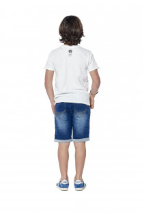 T-Shirt FLAGY Garçon S18160B (37071) - DEELUXE