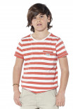 T-shirt rayé Borneo